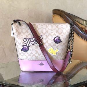 NWT Coach Disney sleeping beauty handbag sold out